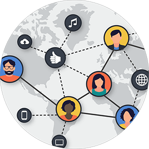 Single hub to connect employees