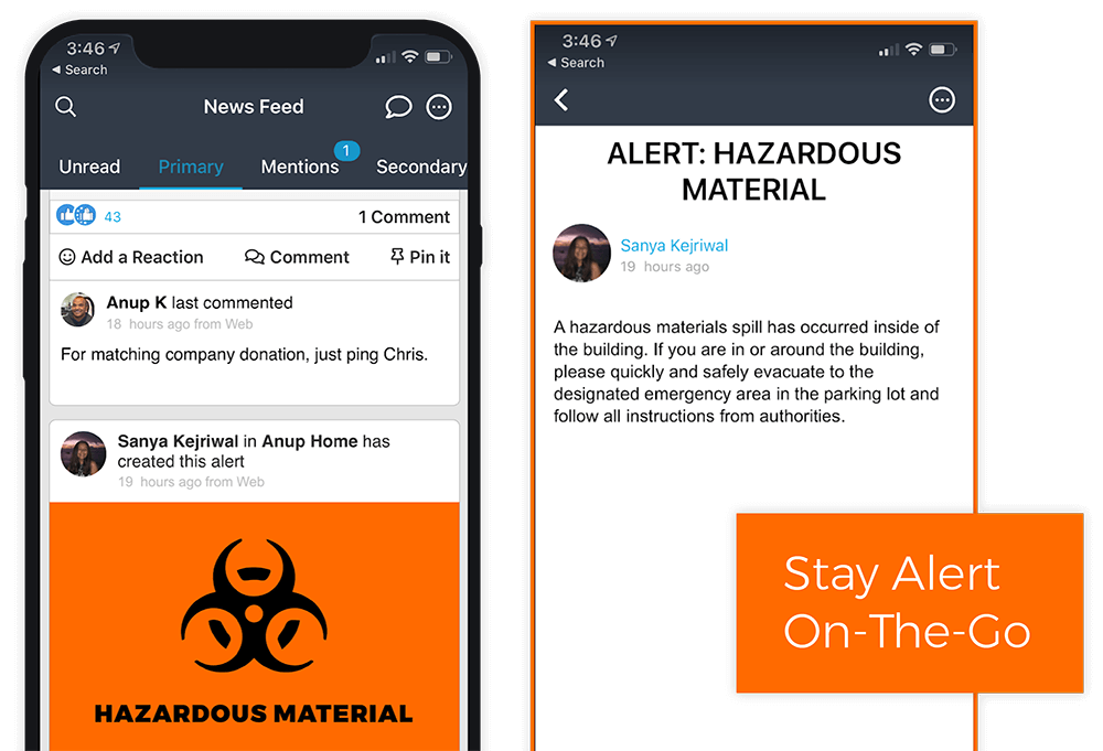 Get Mobile Alerts of Urgent Communications