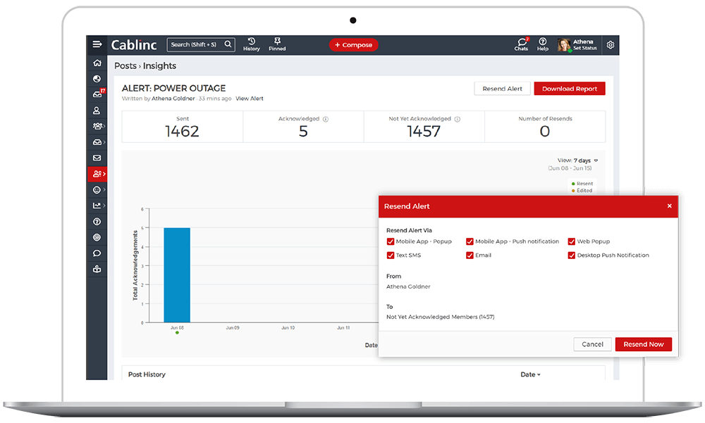 View Full Audit-Ready Insights and Resend Alerts