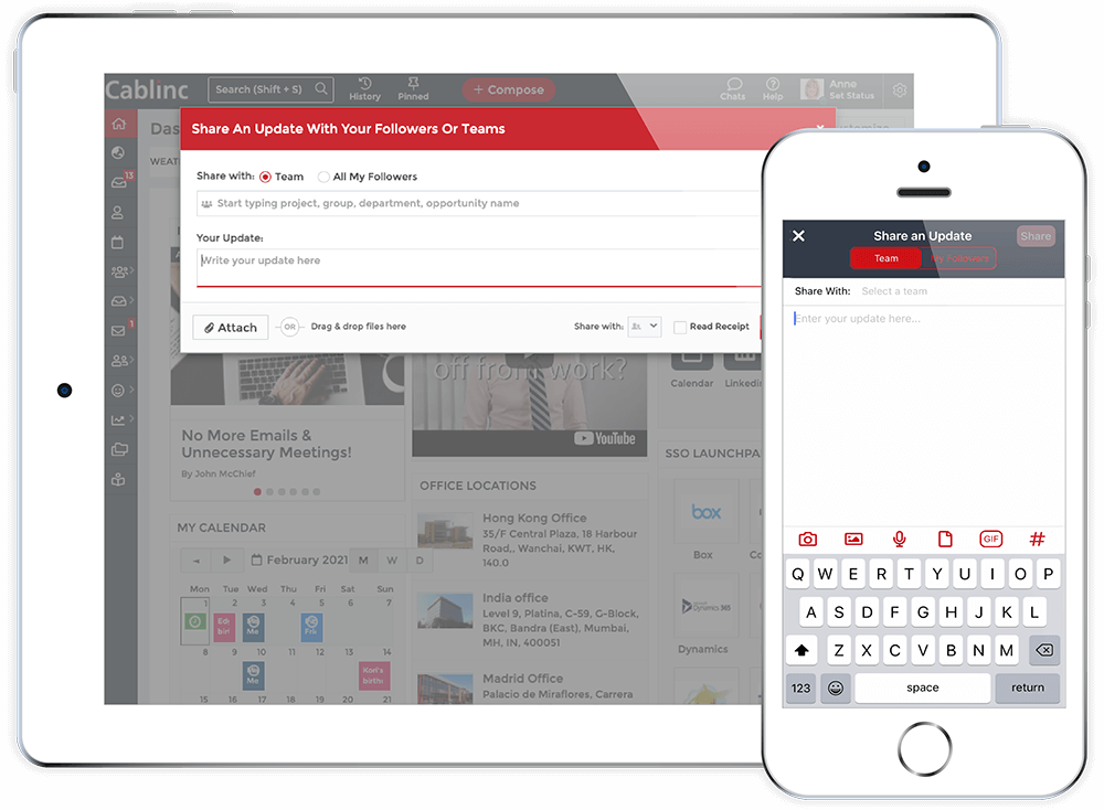 Attach and View Files From Any Device