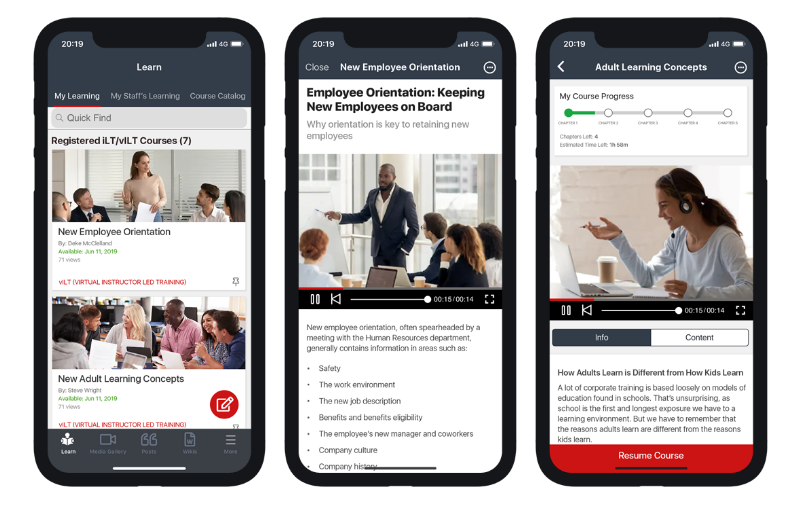 Mobile Collaboration App Features