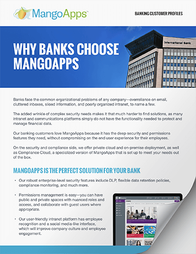 Download Mini Casestudies of Our Financial Customers
