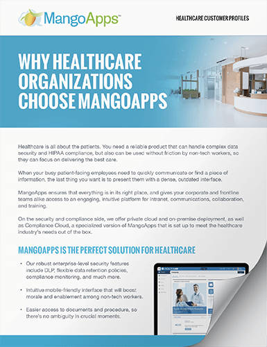 Download Mini Casestudies of Our Healthcare Customers