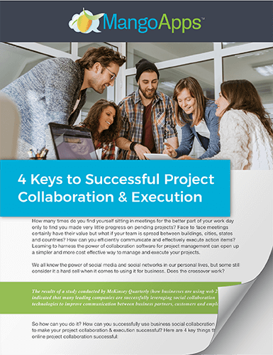 Whitepaper: 4 Keys to Successful Project Collaboration & Execution