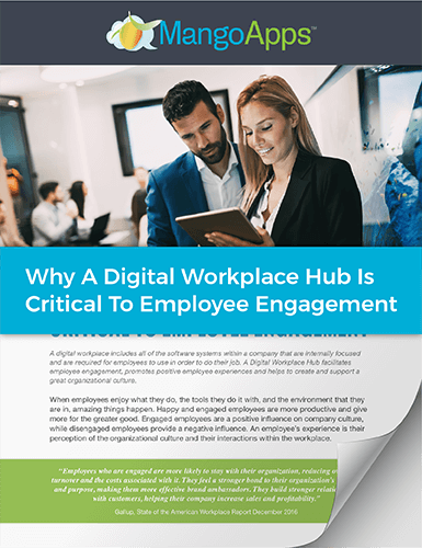 Whitepaper: Why Digital Hub is Critical For Employee Engagement