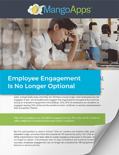 Whitepaper: Employee Engagement is No Longer Optional