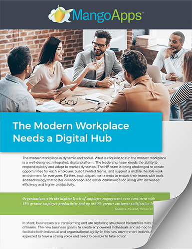 Whitepaper: Digital Workplace Platform for The Modern Workplace
