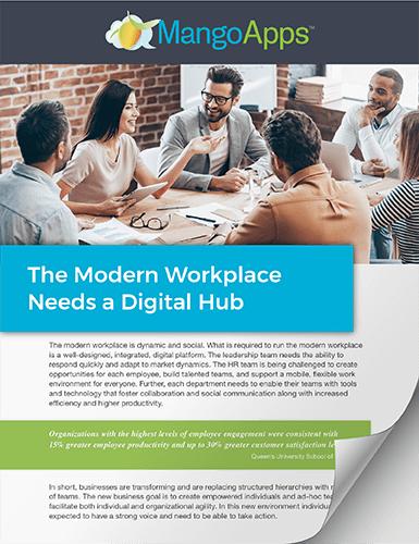 Digital Workplace Platform for The Modern Workplace
