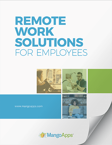 eBook: Remote Work Management with MangoApps