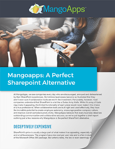 Whitepaper: A Perfect SharePoint Alternative