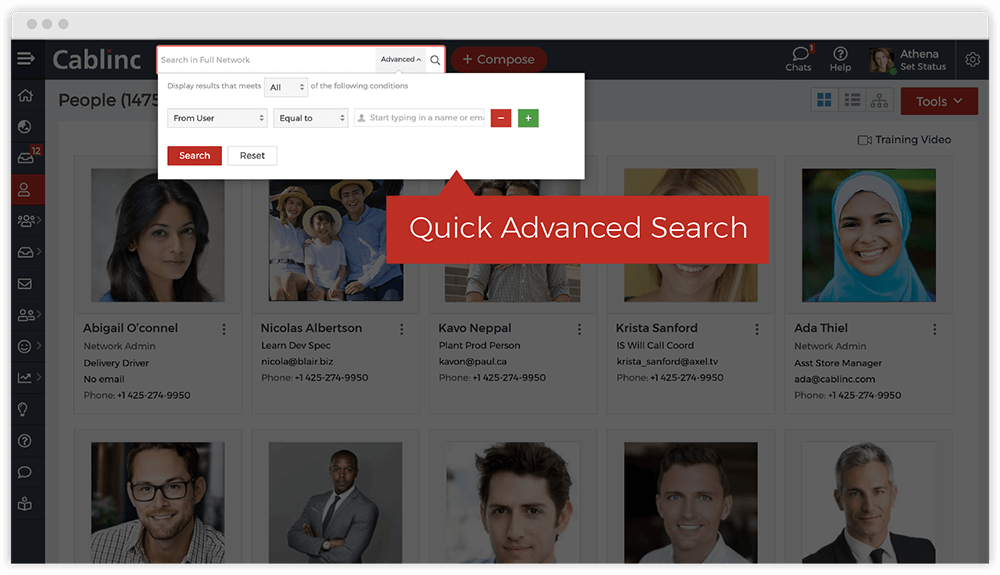 Global Search Options